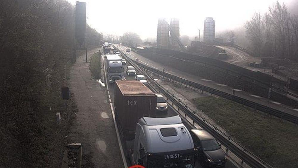 Incidente in Valsugana: traffico bloccato tra Pergine e Trento - Trento Today