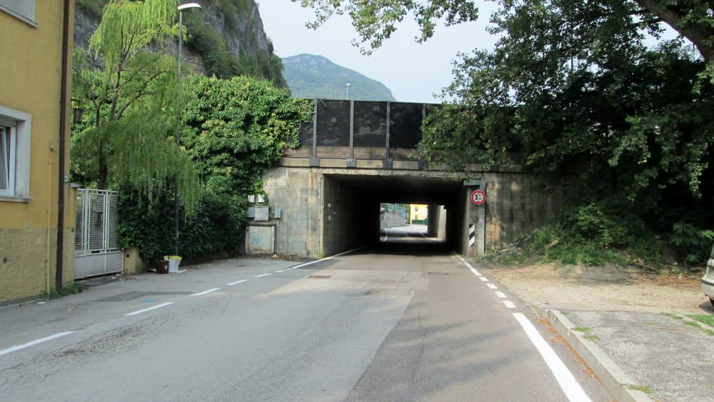 Via dos trento e via maccani due nuovi collegamenti ciclabili for Arredo bagno trento via maccani